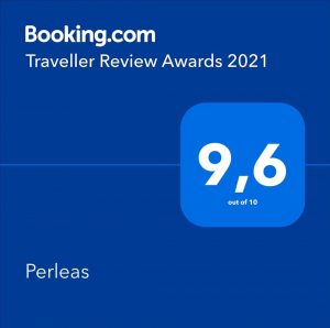 Booking Awards 2021 Perleas